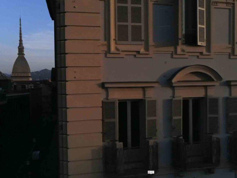 Restauro tetti e facciate via Po