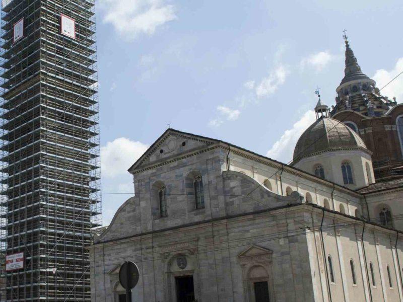 Fiammengo Federico - Restauro torre campanaria Duomo Torino