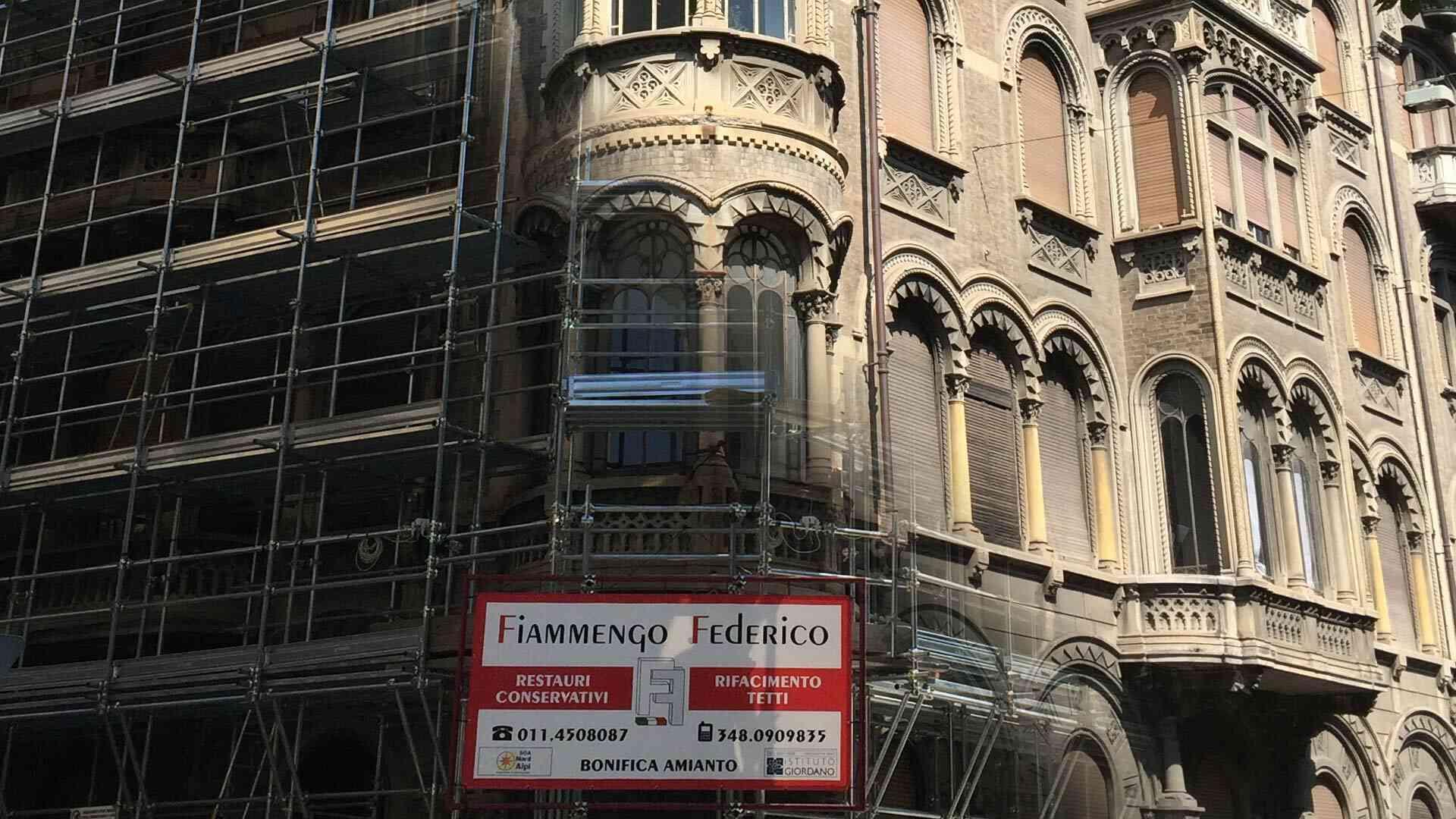 Fiammengo Federico - Lavori terminati