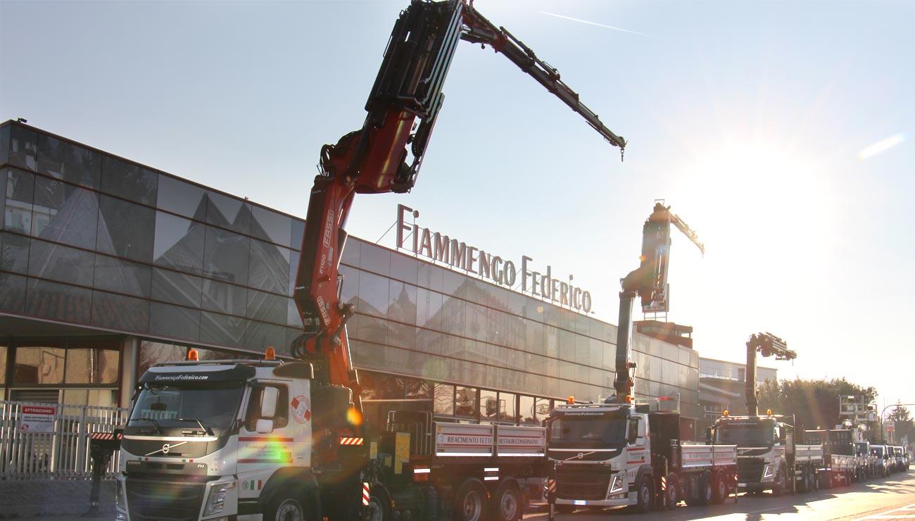 Flotta mezzi Fiammengo Federico