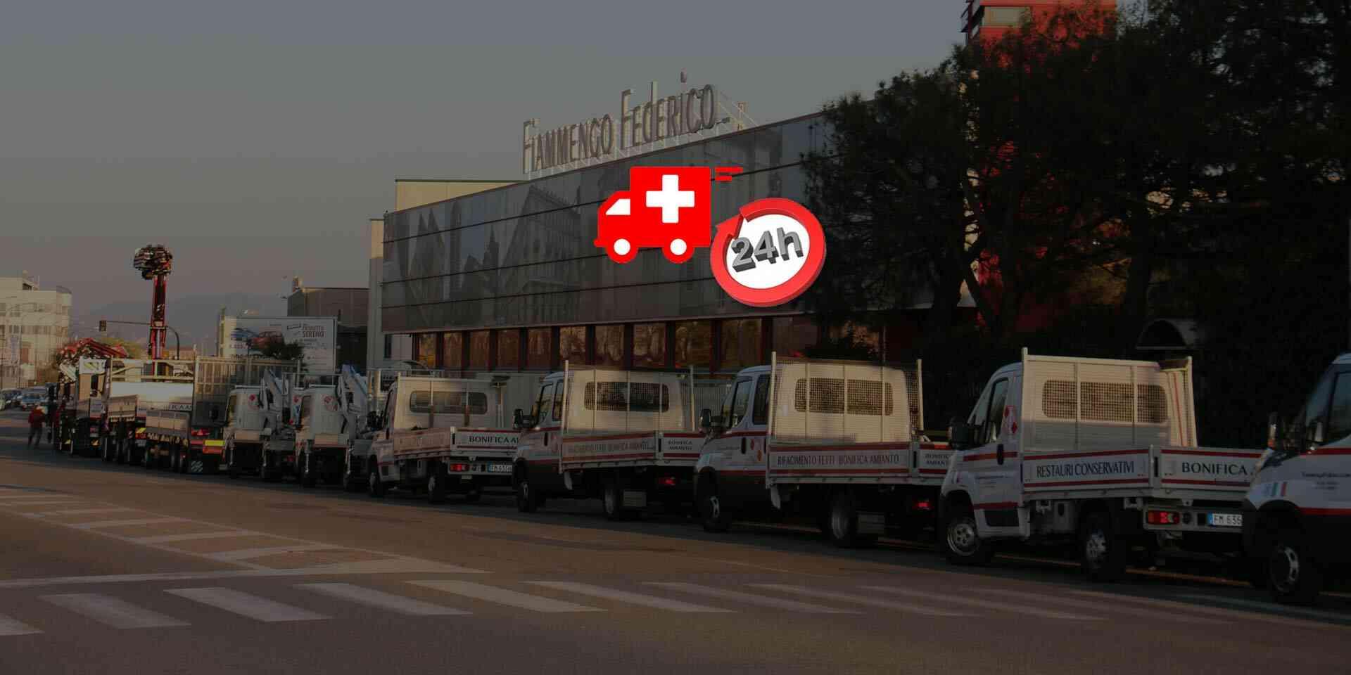 interventi di urgenza in 24 ore
