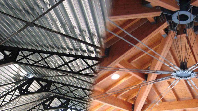 carpenterie in ferro e legno